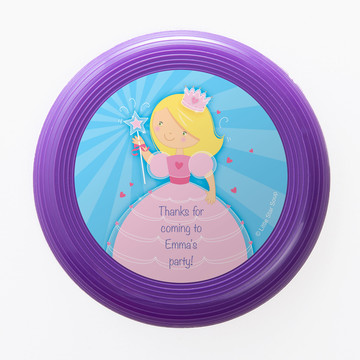 Fairytale Princess Personalized Mini Discs (Set of 12)