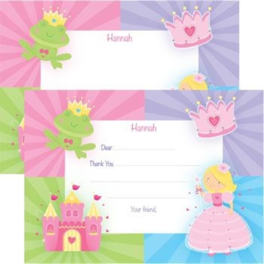 View larger image of Fairytale Princess Personalized Thank You Note