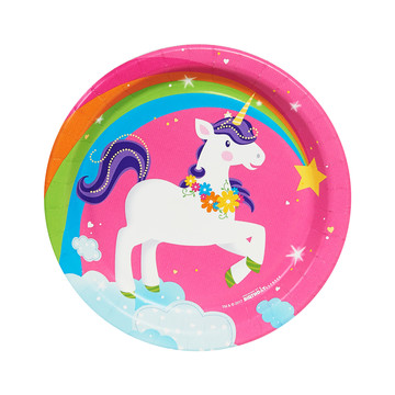 Fairytale Unicorn Party Dessert Plates (8)