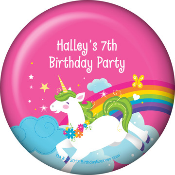 Fairytale Unicorn Personalized Magnet (Each)