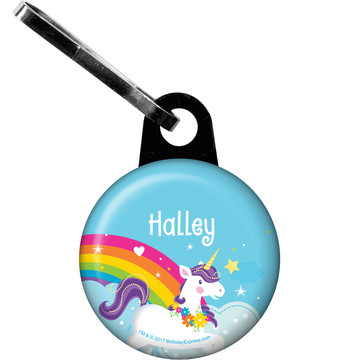 Fairytale Unicorn Personalized Zipper Pull (Each)