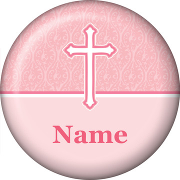 Faith Pink Personalized Mini Magnet (Each)
