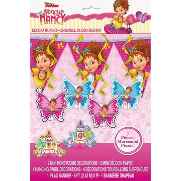 Fancy Nancy Decor Kit, 7pcs