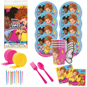 Fancy Nancy Deluxe Tableware Kit (Serves 8)