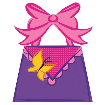 Fancy Nancy Loot Bags, 8ct