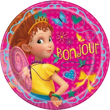 Fancy Nancy Lunch Plates, 8ct