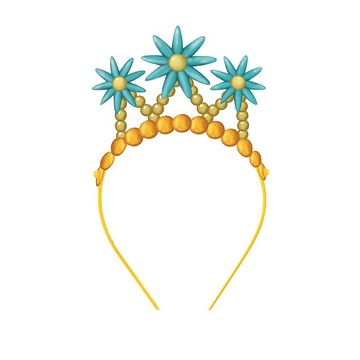 Fancy Nancy Paper Tiaras, 4ct
