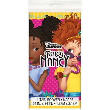 Fancy Nancy Plastic Tablecover