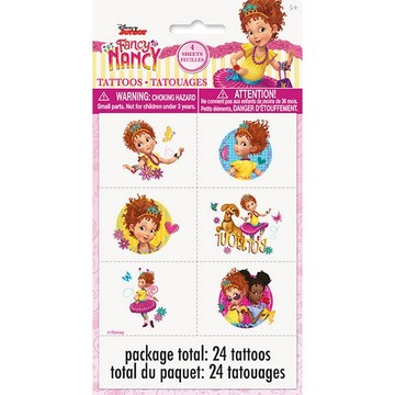 Fancy Nancy Tattoos, 24ct