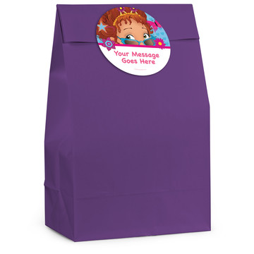 Fancy Party Personalized Favor Bag (12 Pack)