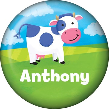 Farm Animals Personalized Mini Button (each)