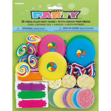 Festive Pinata Filler Favors 36pcs (Each)