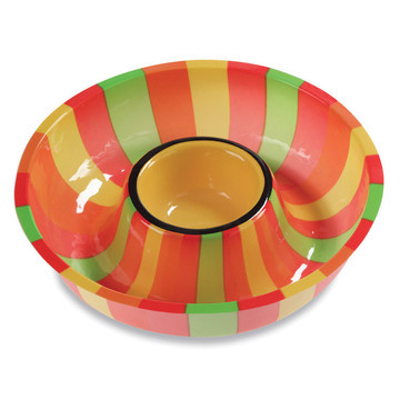 "Fiesta 12"" Chip and Dip Tray"