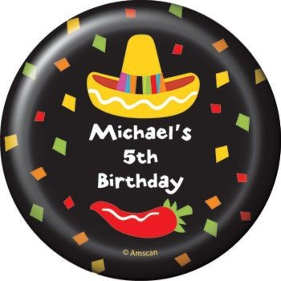 View larger image of Fiesta Party Personalized Magnet (each)
