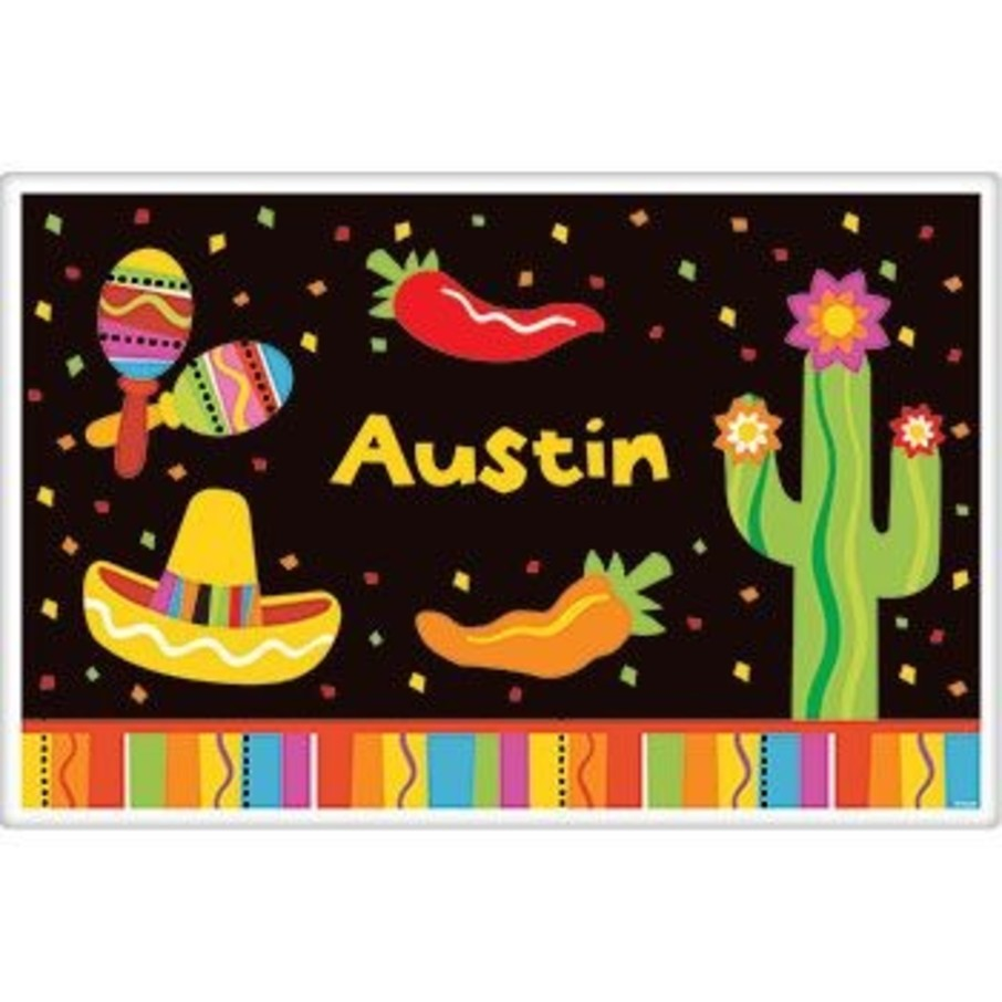 View larger image of Fiesta Party Personalized Placemat (each)