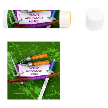 Fighting Turtles Personalized Lip Balm (12 Pack)