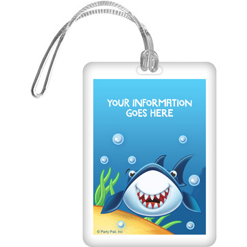Fin Fun Personalized Luggage Tag (Each)