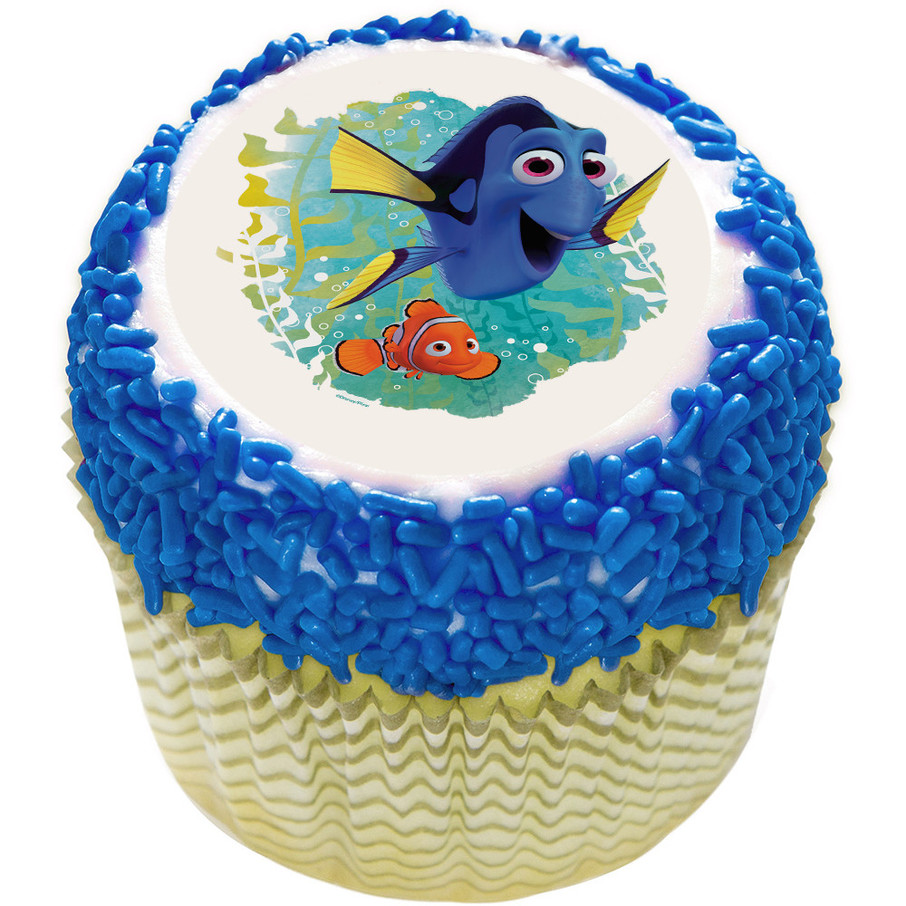 "View larger image of Finding Dory 2"" Edible Cupcake Topper (12 Images)"