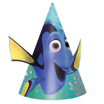 Finding Dory Party Hats (8 Count)