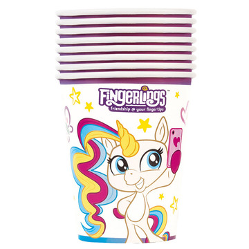 Fingerlings 9oz Paper Cups (8)