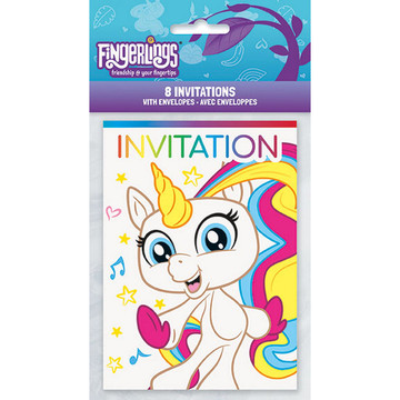 Fingerlings Invitations (8)