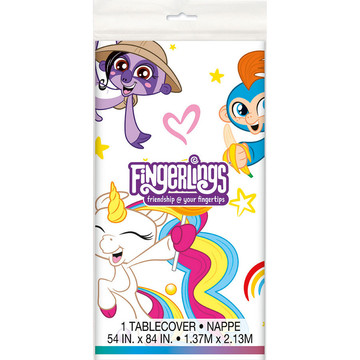 Fingerlings Plastic Table Cover (1)