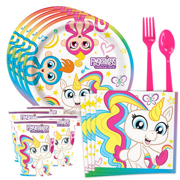 Fingerlings Standard Tableware Kit (Serves 8)