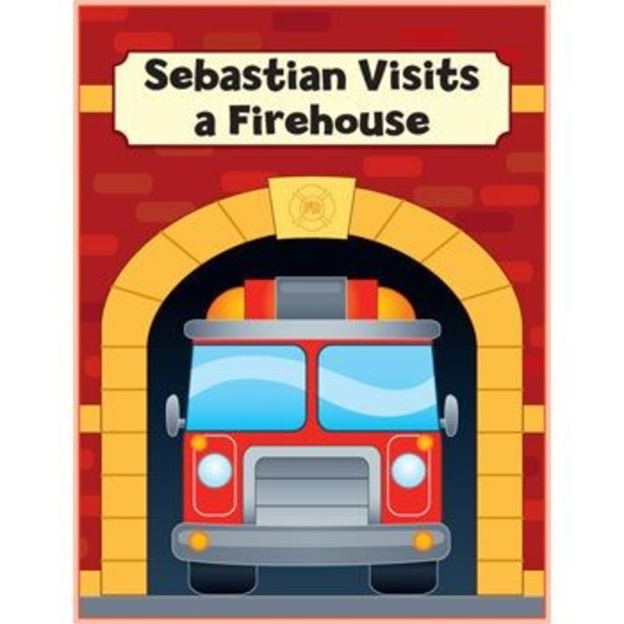 View larger image of Firefighter Personalized Coloring Book (each)