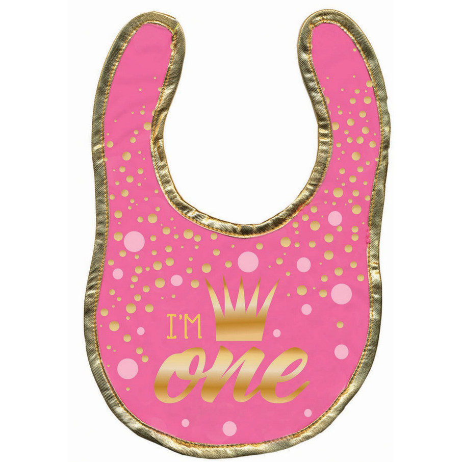 View larger image of First Birthday Girl Bib
