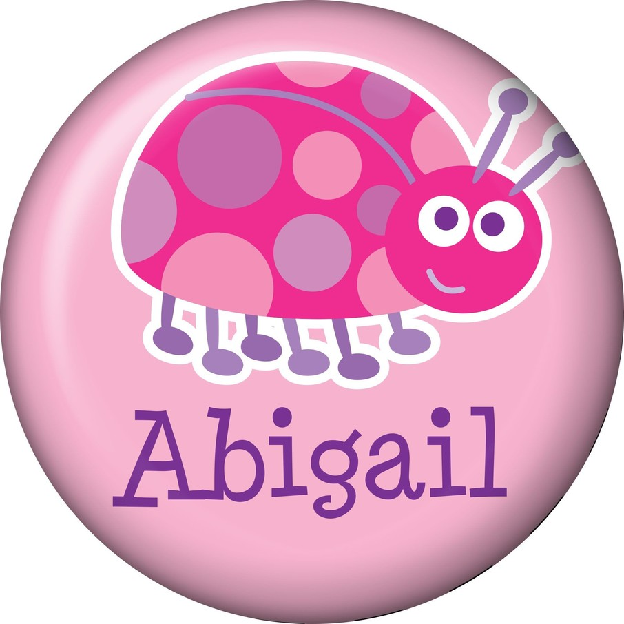 View larger image of First Birthday Ladybug Personalized Mini Magnet (each)