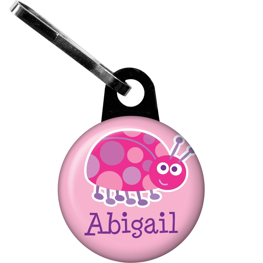 View larger image of First Birthday Ladybug Personalized Zipper Pull (each)