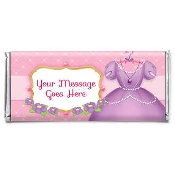 First Princess Personalized Candy Bar Wrapper (Each)