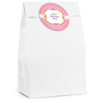 First Princess Personalized Favor Bag (12 Pack)