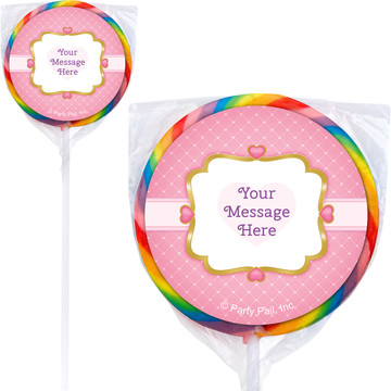 First Princess Personalized Lollipops (12 Pack)