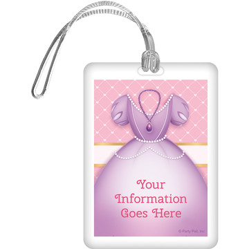 First Princess Personalized Luggage Tag (Each)