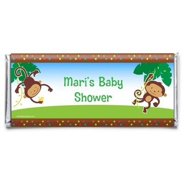 Fisher Price Baby Personalized Candy Bar Wrapper (Each)