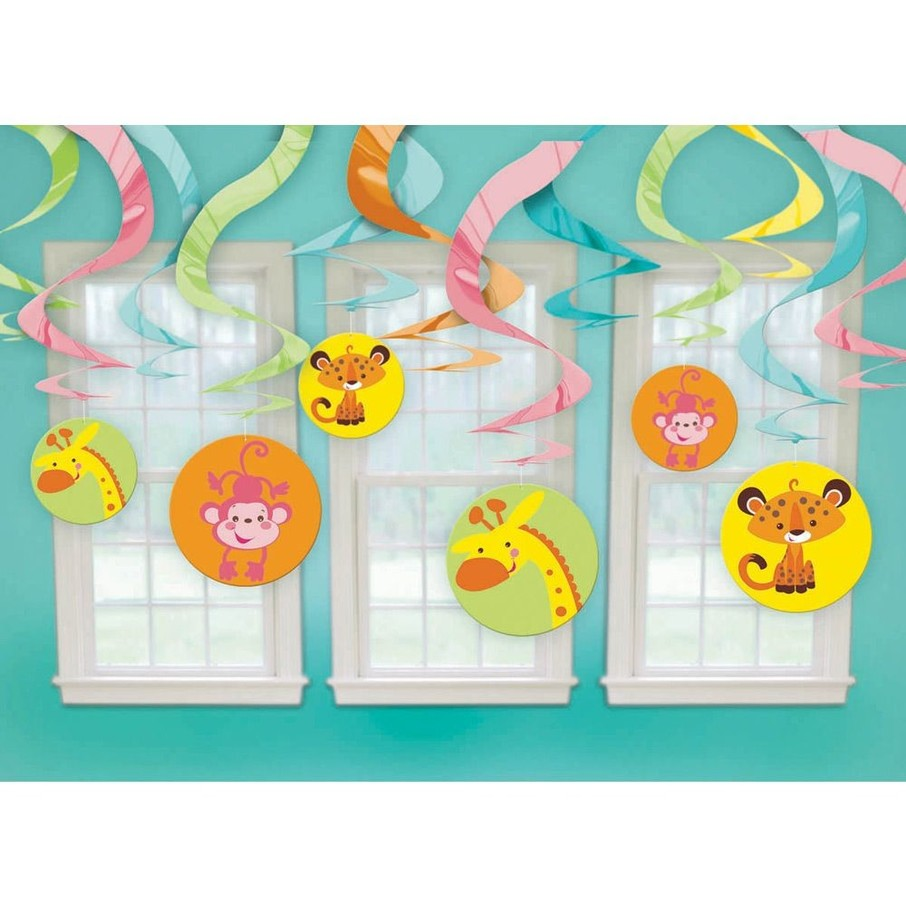 View larger image of Fisher Price Baby Shower Swirl Decorations (Each)