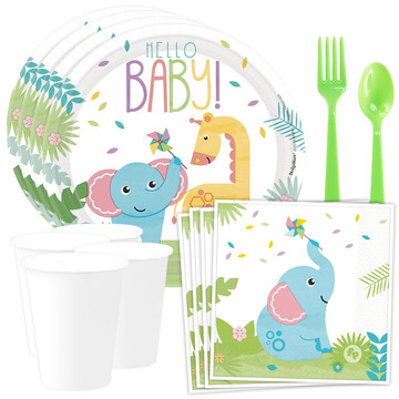 Fisher Price Hello Baby Standard Tableware Kit (Serves 8)