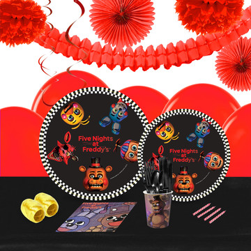 Five Nights at Freddy's 16 Guest Tableware Deco Kit