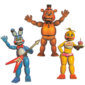 """Five Nights at Freddy's 20"""" Character Cutouts (3 Pieces)"""