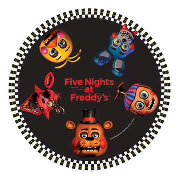 Five Nights at Freddy's Dinner Plates (8 Count)