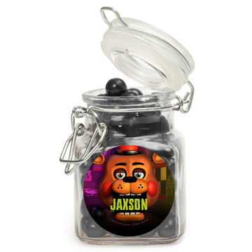 Five Nights at Freddy's Personalized Glass Apothecary Jars (12 Count)