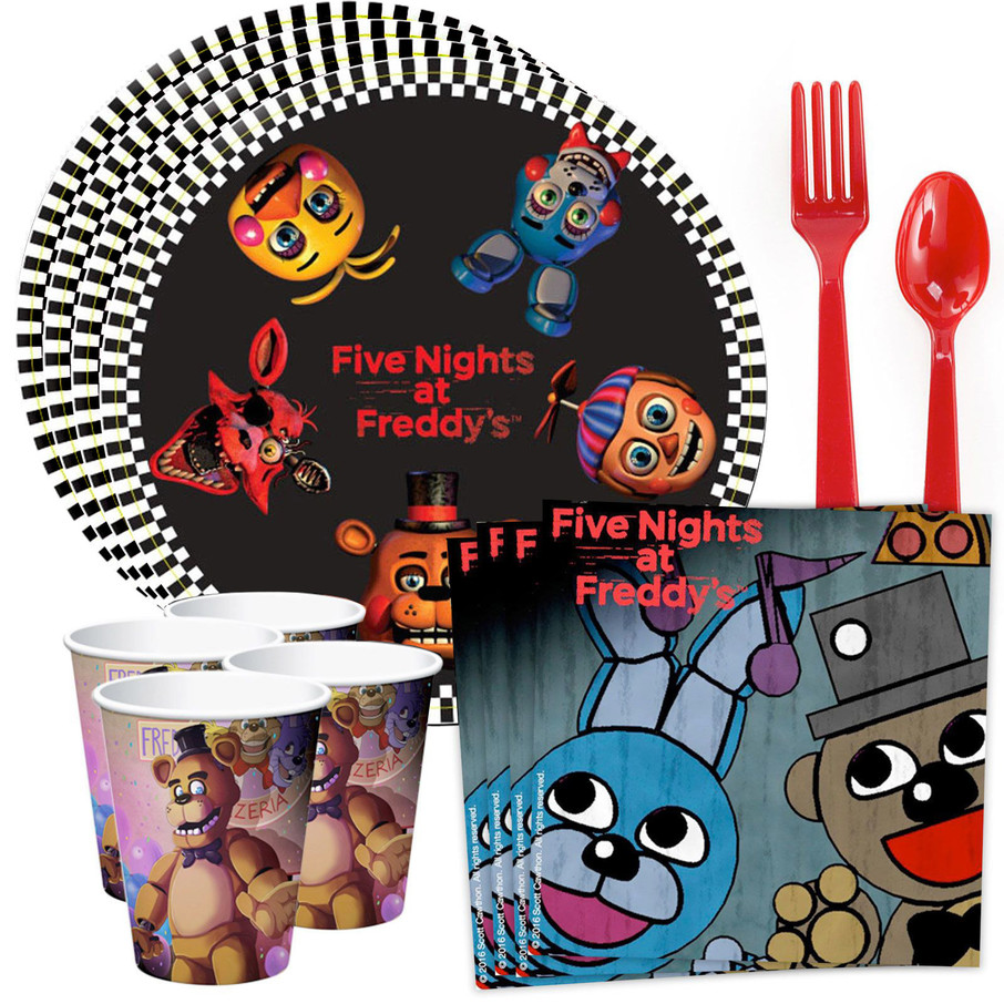 View larger image of Five Nights at Freddy's Standard Tableware Kit (Serves 8)