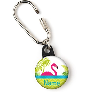 "Flamingo Personalized 1"" Carabiner (Each)"