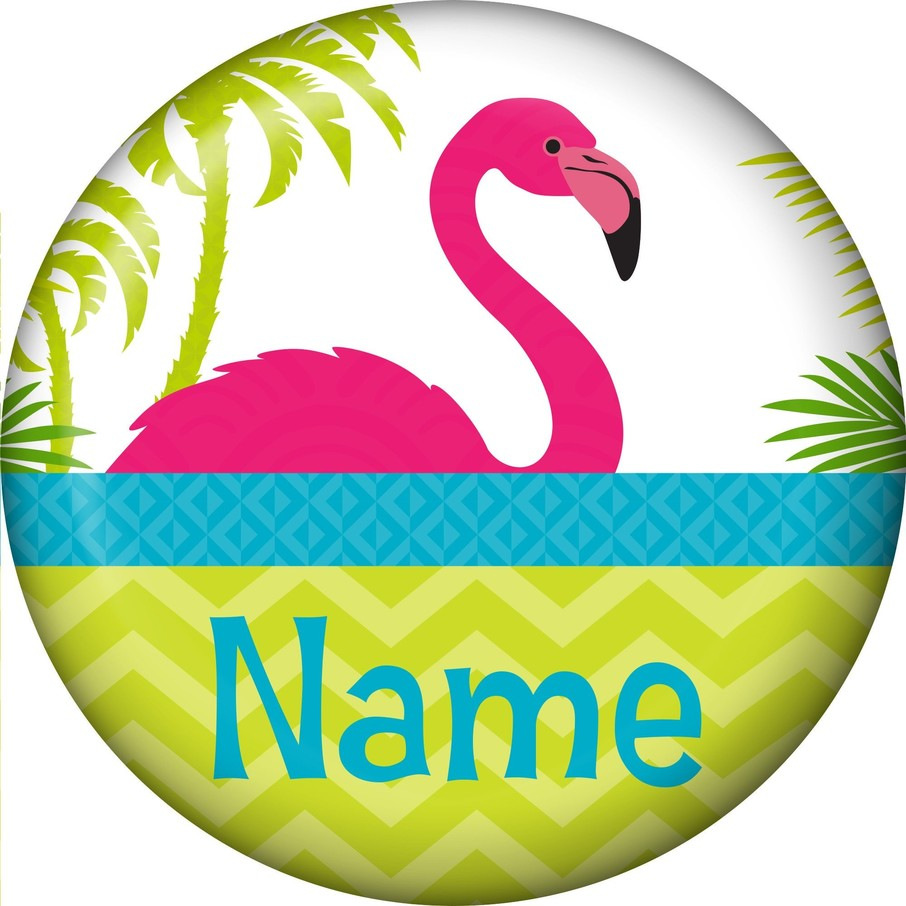 View larger image of Flamingo Personalized Mini Button (Each)