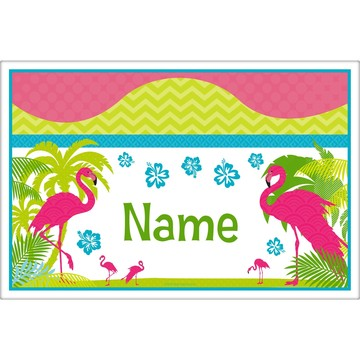 Flamingo Personalized Placemat (Each)
