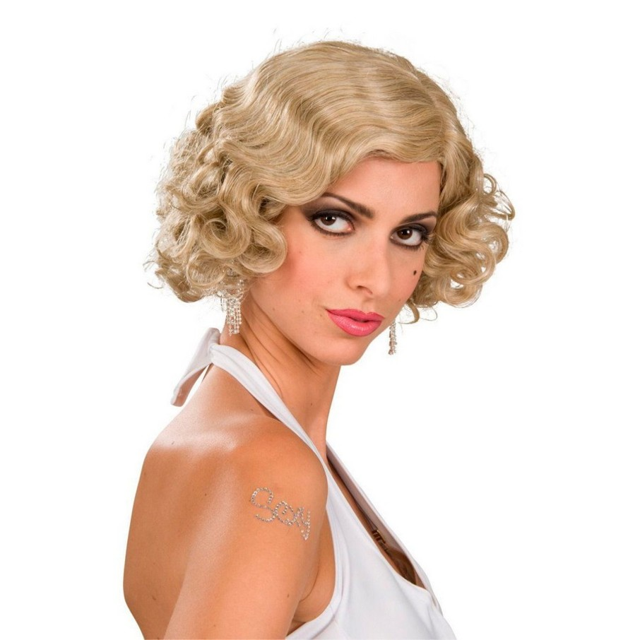 View larger image of Flapper Wig Adult (Blonde)