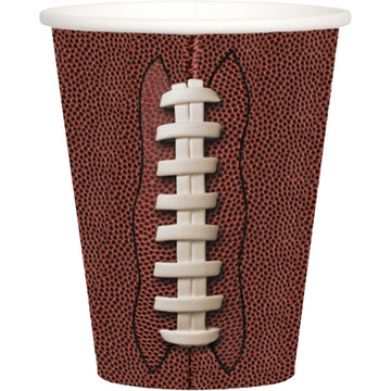 Football 9oz Cups (8)