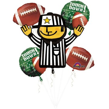 Football Balloon Bouquet