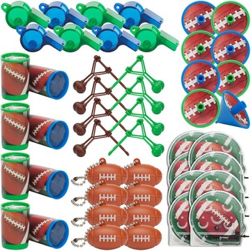 Football Mega Mix Favor Pack (For 8 Guests)